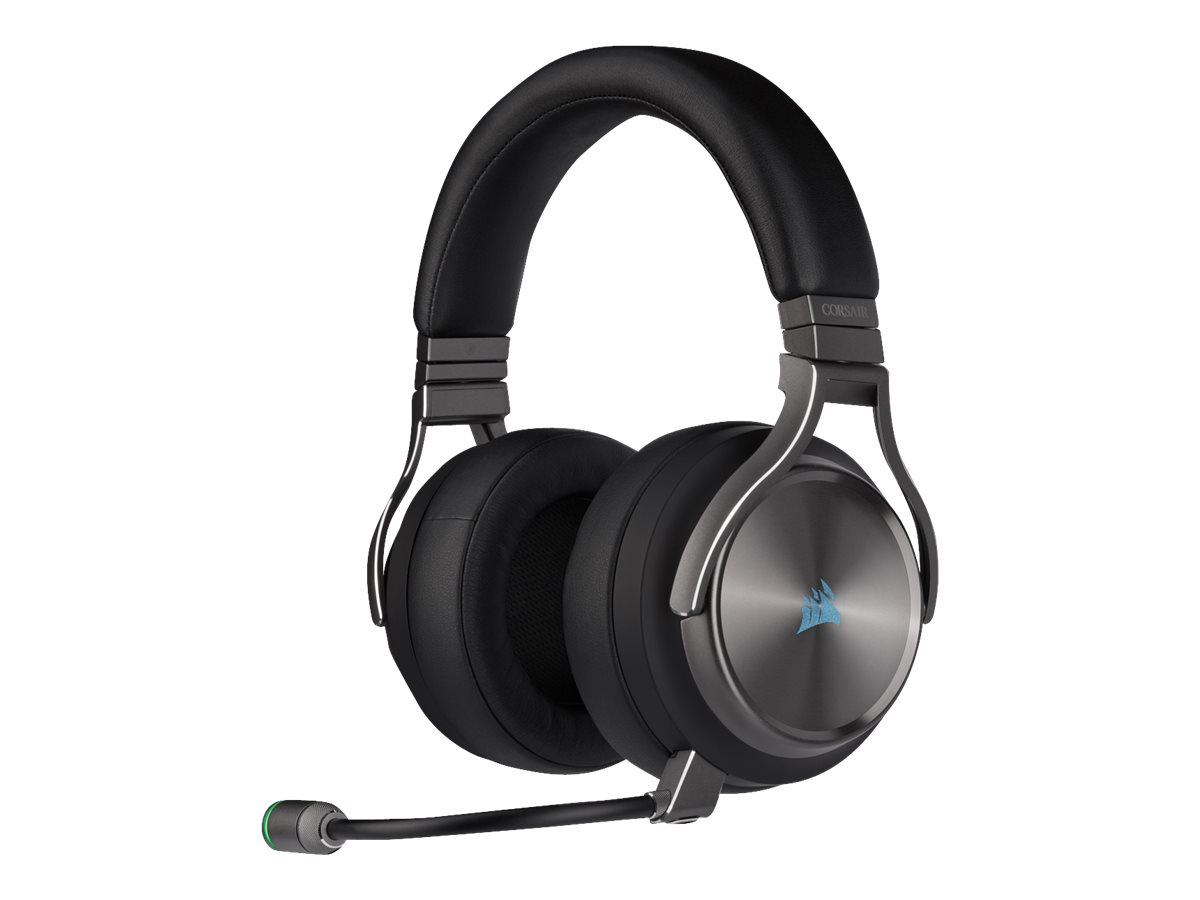 CORSAIR Gaming VIRTUOSO RGB SE - Headset - ohrumschliessend - 2,4 GHz - kabellos - USB, 3,5 mm Stecker
