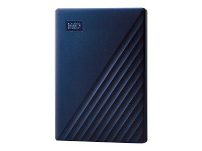 WD My Passport for Mac WDBA2F0050BBL - Festplatte - verschlüsselt - 5 TB - extern (tragbar) - USB 3.0