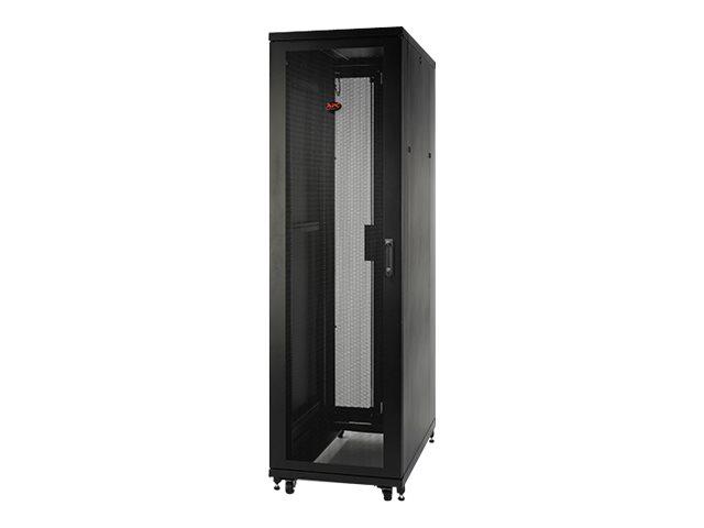 APC NetShelter SV Deep Enclosure without Sides without Doors - Schrank - Netzwerkschrank - Schwarz - 42HE - 48.3 cm (19