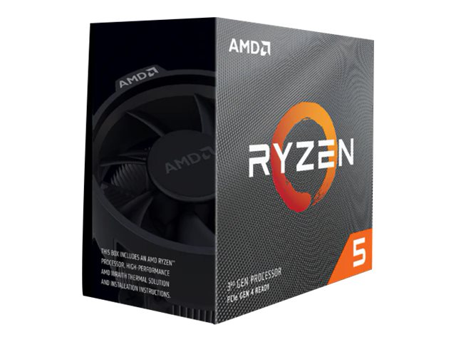 AMD Ryzen 5 2600X - 3.6 GHz - 6 Kerne - 12 Threads - 16 MB Cache-Speicher - Socket AM4