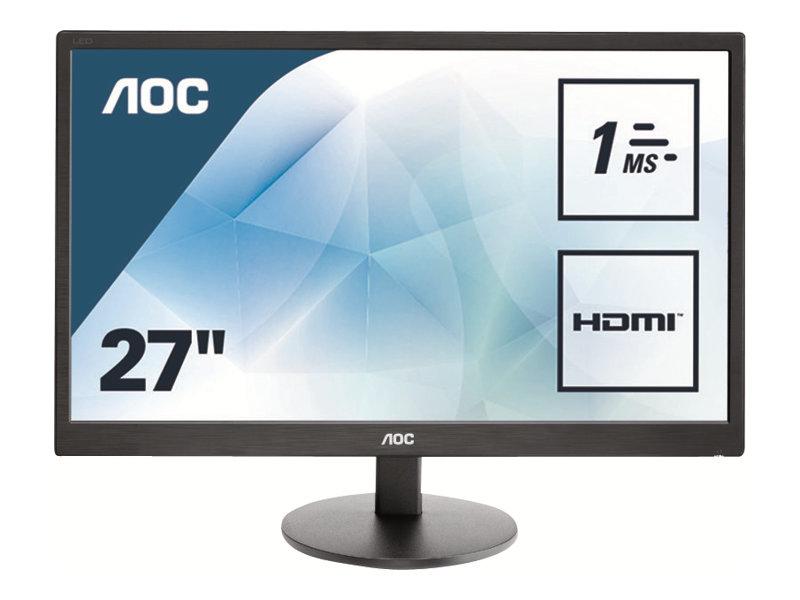 AOC Value E2770SH - LED-Monitor - 68.6 cm (27