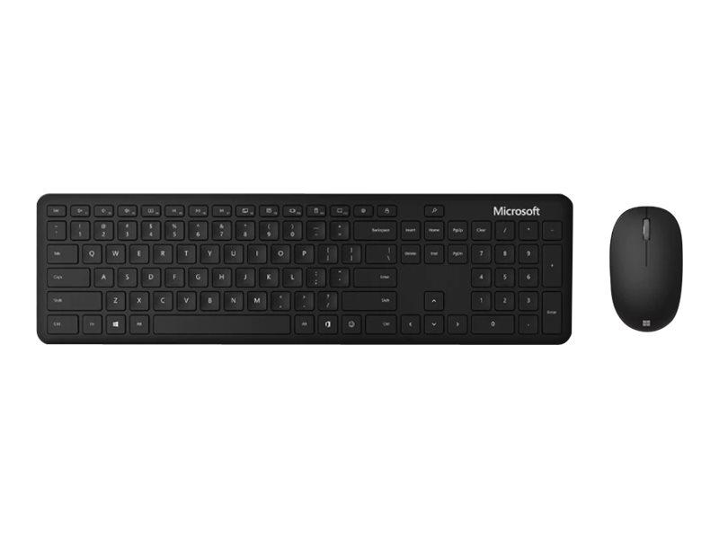 Microsoft Bluetooth Desktop - Tastatur-und-Maus-Set - kabellos - Bluetooth 4.0 - Deutsch - mattschwarz