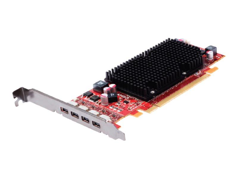 AMD FirePro 2460 Multi-View - Grafikkarten - FirePro 2460 - 512 MB GDDR5 - PCIe 2.1 x16 Low-Profile - 4 x Mini DisplayPort