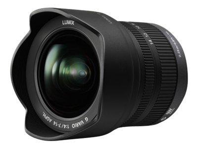 Panasonic Lumix H-F007014E - Weitwinkel-Zoom-Objektiv - 7 mm - 14 mm - f/4.0 G VARIO - Micro Four Thirds