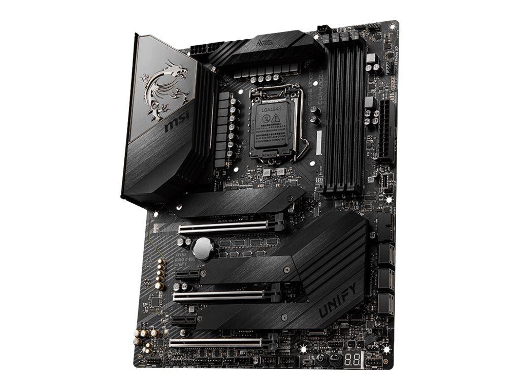 MSI MEG Z490 UNIFY - Motherboard - ATX - LGA1200-Sockel - Z490 - USB-C Gen2, USB 3.2 Gen 1, USB 3.2 Gen 2, USB-C Gen 2x2