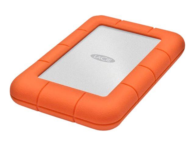 LaCie Rugged Mini - Festplatte - 4 TB - extern (tragbar) - USB 3.0 - 5400 rpm