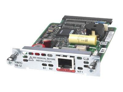 Cisco 1-Port ISDN BRI U High-Speed WAN Interface Card - ISDN Terminal Adapter - HWIC - ISDN BRI U - für Cisco 1841 3G, 1841 ADSL