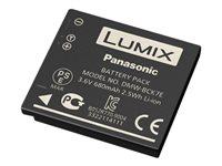 Panasonic DMW-BCK7E - Batterie - Li-Ion - 680 mAh - Schwarz - für Lumix DMC-FH24, FH4, FH6, FH8, FS28, FS41, FT25, FT30, S2, S5,