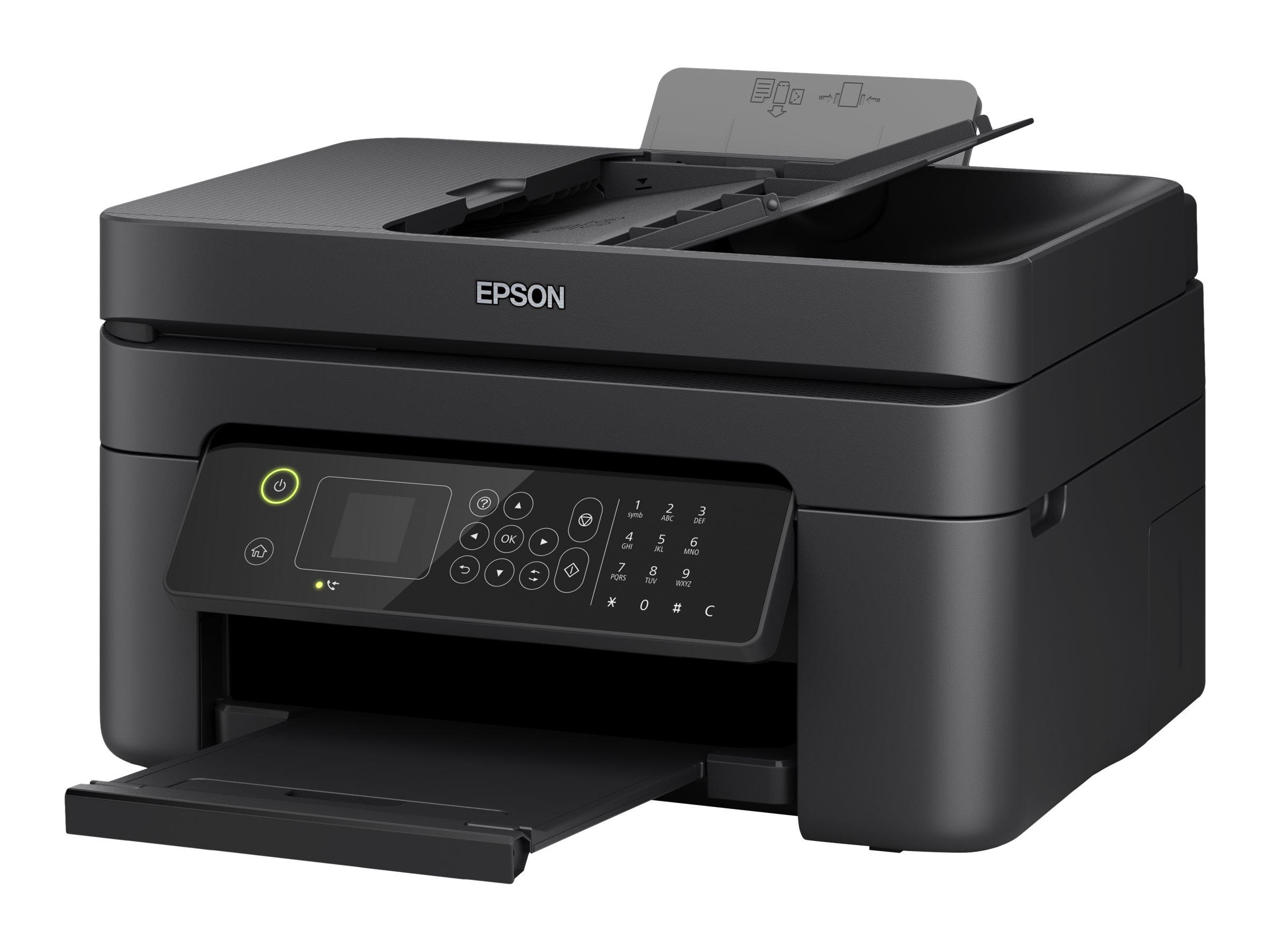 Epson WorkForce WF-2835DWF - Multifunktionsdrucker - Farbe - Tintenstrahl - A4/Legal (Medien) - bis zu 33 Seiten/Min. (Drucken)