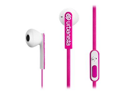Urbanista San Francisco - Headset - im Ohr - kabelgebunden - Pink Panther