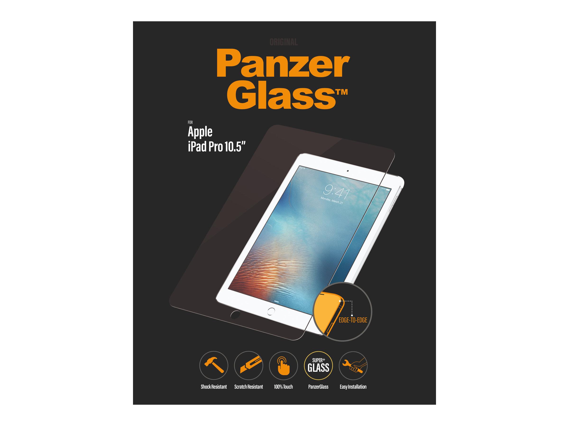 PanzerGlass - Bildschirmschutz für Tablet - Glas - kristallklar - für Apple 10.5-inch iPad Air (3. Generation); 10.5-inch iPad P