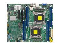 SUPERMICRO X10DRL-iT - Motherboard - ATX - LGA2011-v3-Sockel - 2 Unterstützte CPUs - C612