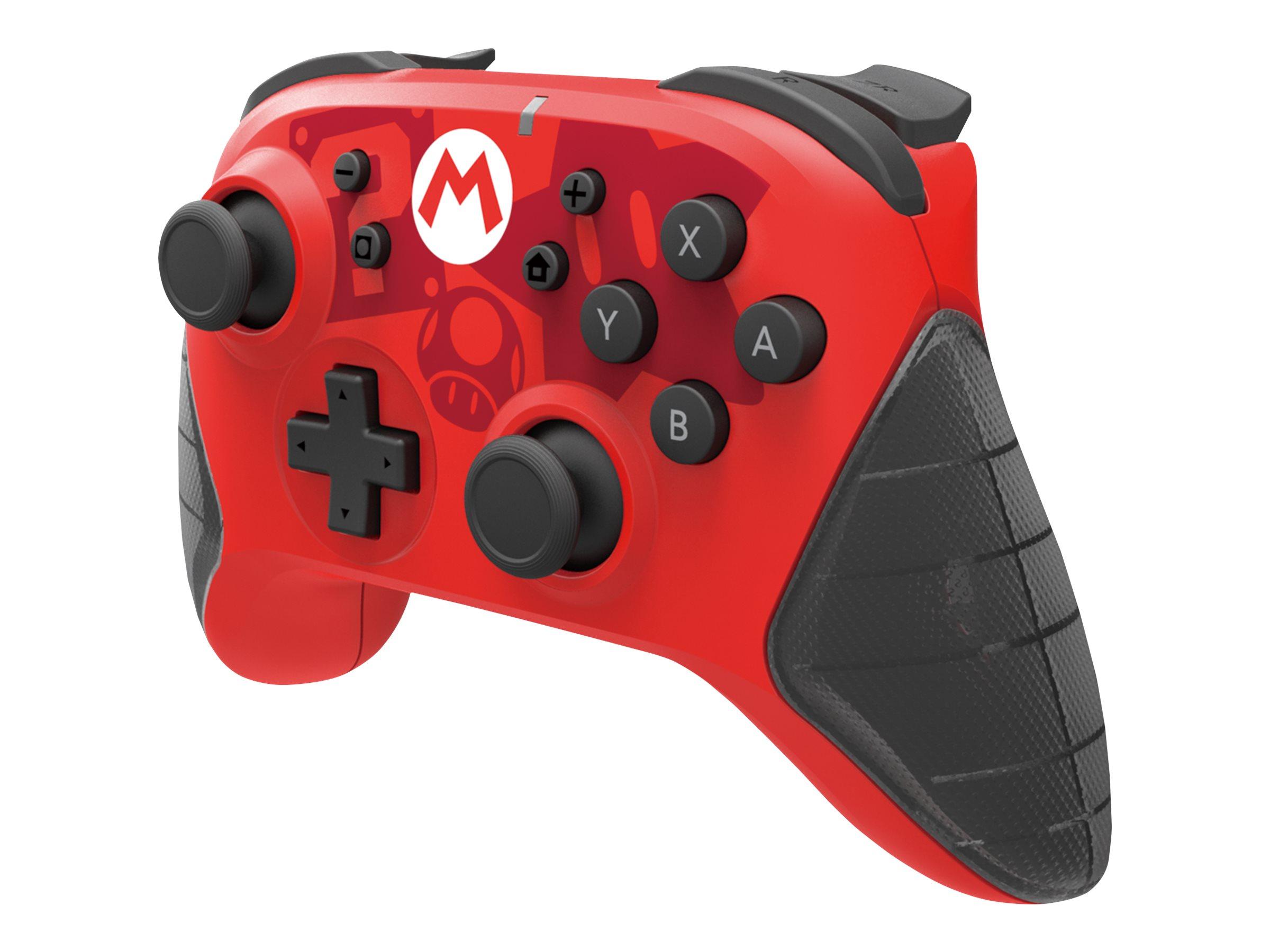HORIPAD Super Mario - Game Pad - kabellos - Bluetooth - für Nintendo Switch