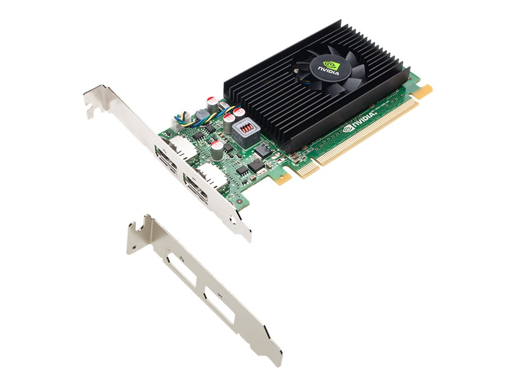NVIDIA NVS 310 by PNY - Grafikkarten - NVS 310 - 1 GB DDR3 - PCIe 2.0 x16 Low-Profile - 2 x DisplayPort