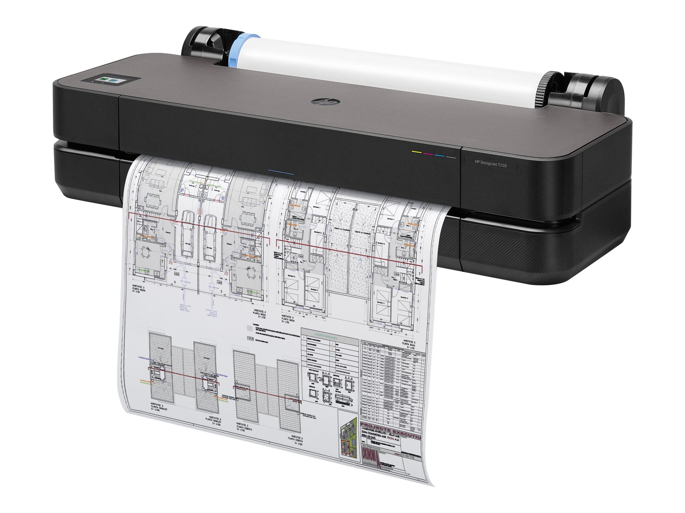 HP DesignJet T250 - 610 mm (24