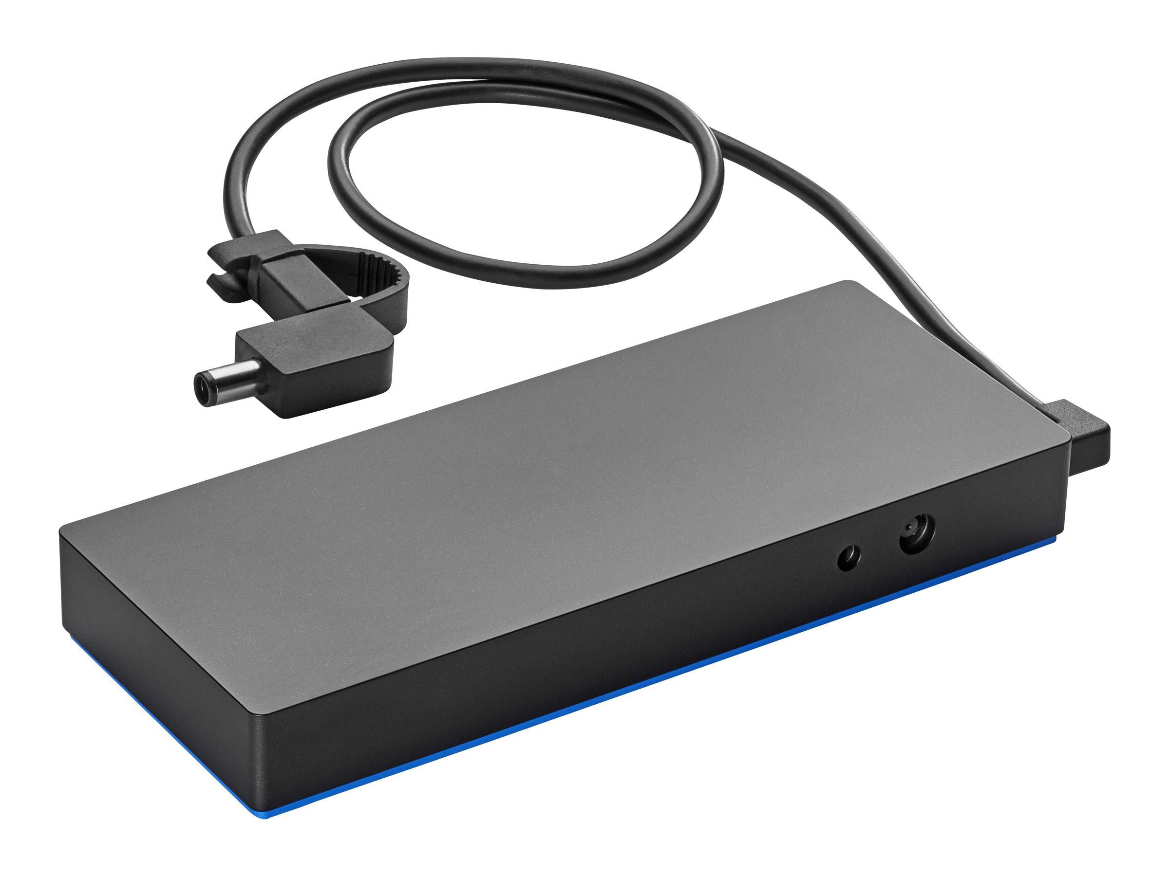 HP Notebook Power Bank - Powerbank 6 Zellen 19200 mAh 72 Wh - Ausgangsanschlüsse: 3 - Schwarz - für HP 245 G7; Chromebook 11 G7;