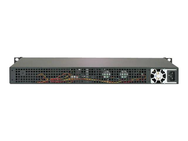 Supermicro SuperServer 5019C-FL - Server - Rack-Montage - 1U - 1-Weg - RAM 0 GB
