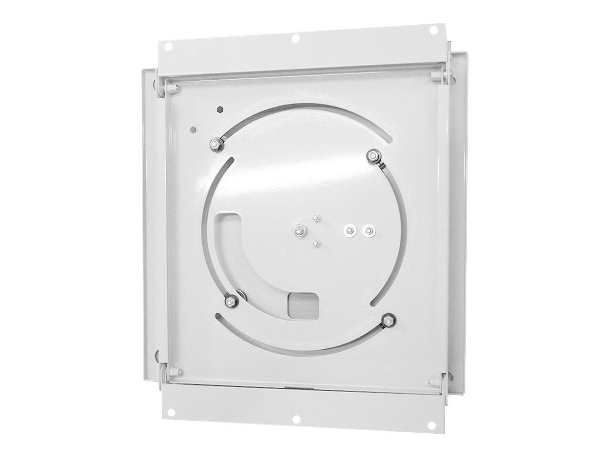 HAGOR WH SA Flip - Wandhalterung für LCD-/Plasmafernseher - verriegelbar - weiss