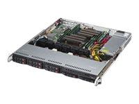 Supermicro SuperServer 1028R-MCT - Server - Rack-Montage - 1U - zweiweg - RAM 0 MB