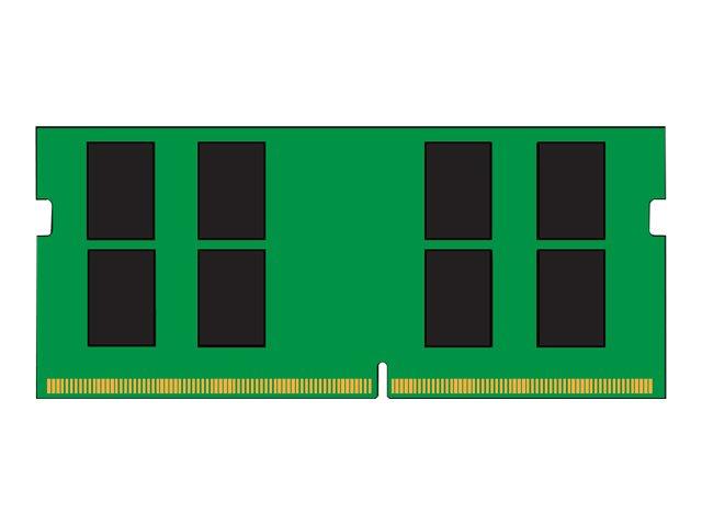 Kingston ValueRAM - DDR4 - 16 GB - SO DIMM 260-PIN - 2666 MHz / PC4-21300 - CL19