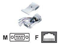 Roline - Serieller Adapter - DB-9 (M) bis RJ-45 (W)