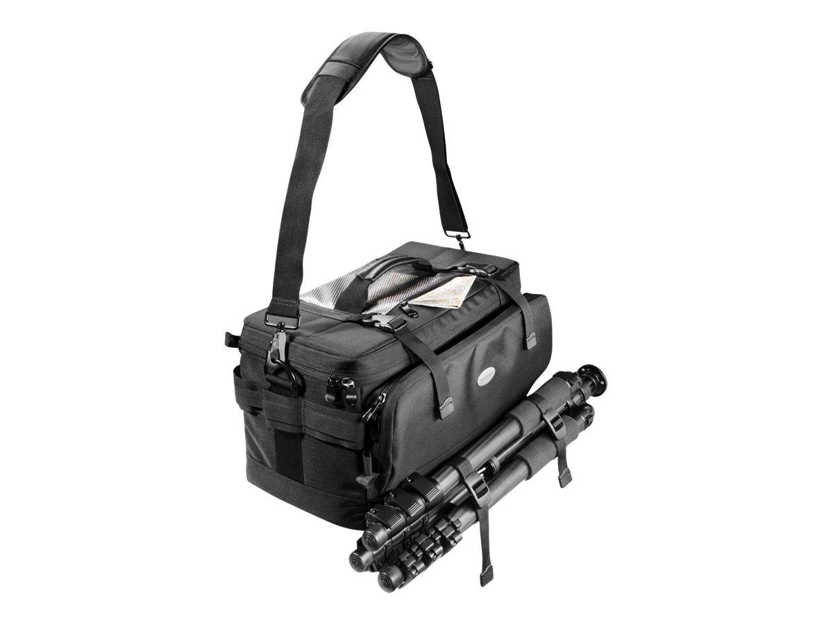 mantona New York - Tragetasche für Digitalkamera mit Objektiven - Polyestermischgewebe