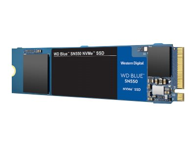 WD Blue SN550 NVMe SSD WDBA3V5000ANC - Solid-State-Disk - 500 GB - intern - M.2 2280 - PCI Express 3.0 x4 (NVMe)