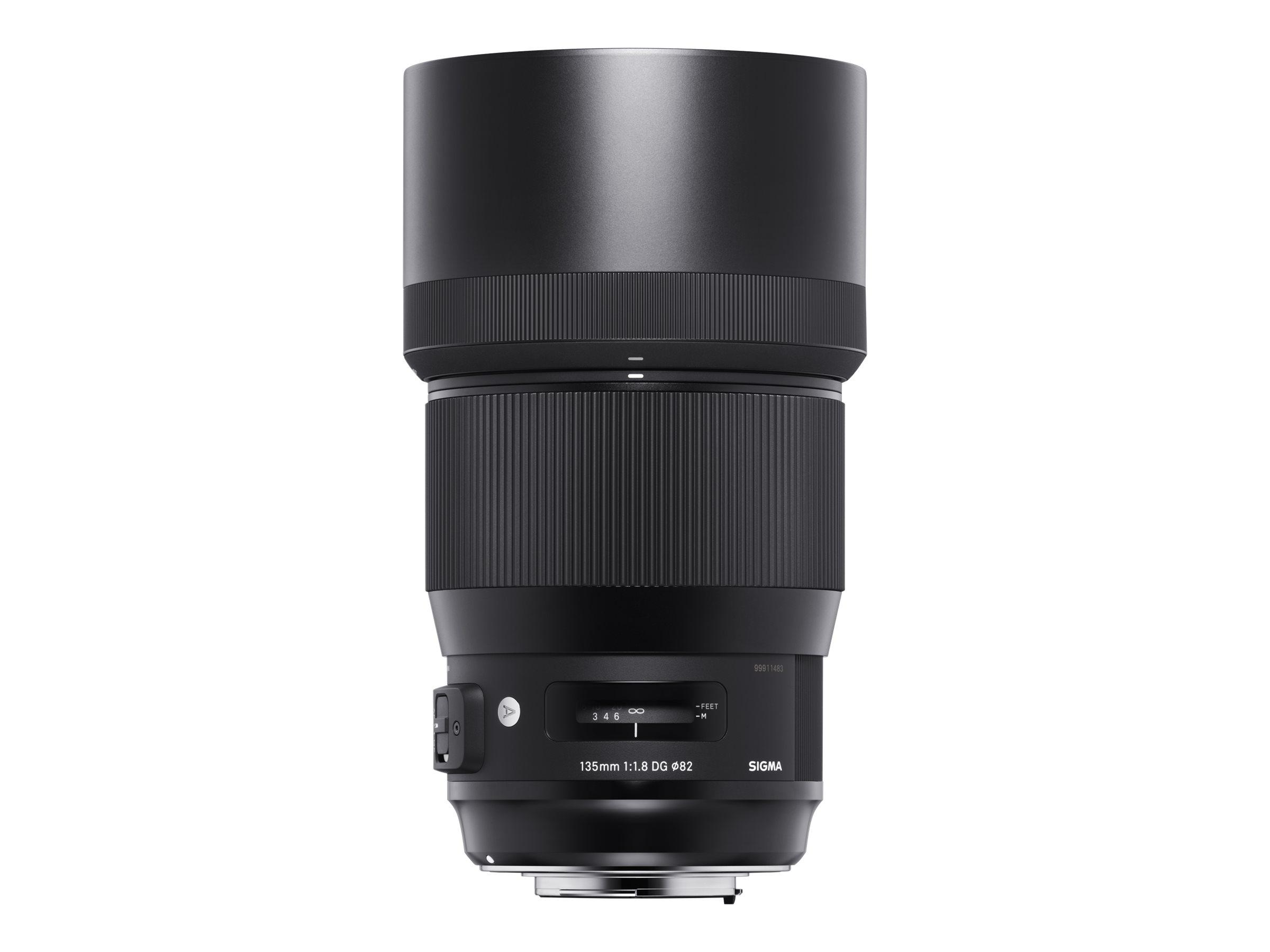 Sigma Art - Teleobjektiv - 135 mm - f/1.8 DG HSM - Nikon F