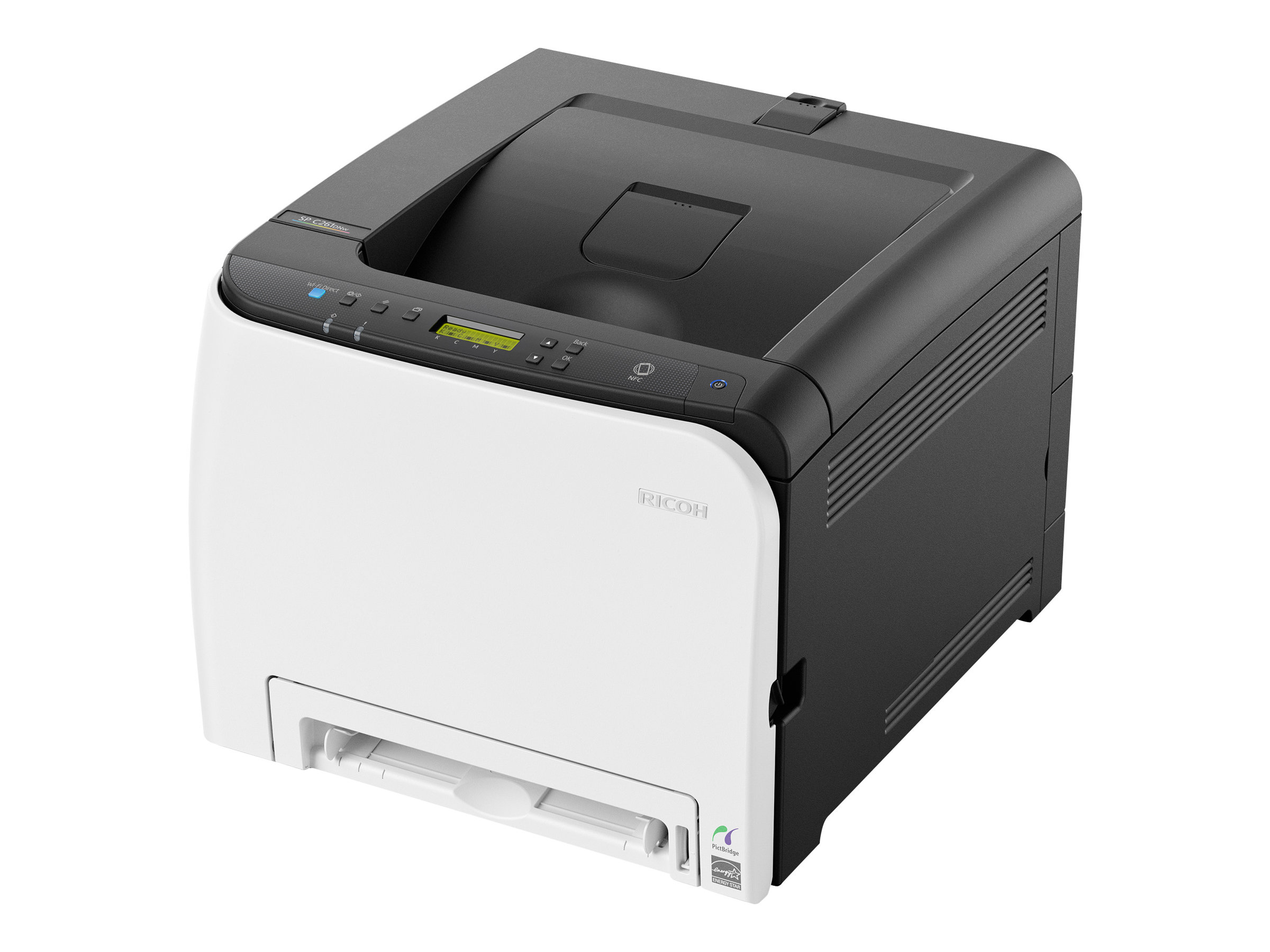 Ricoh SP C261DNw - Drucker - Farbe - Duplex - Laser - A4/Legal