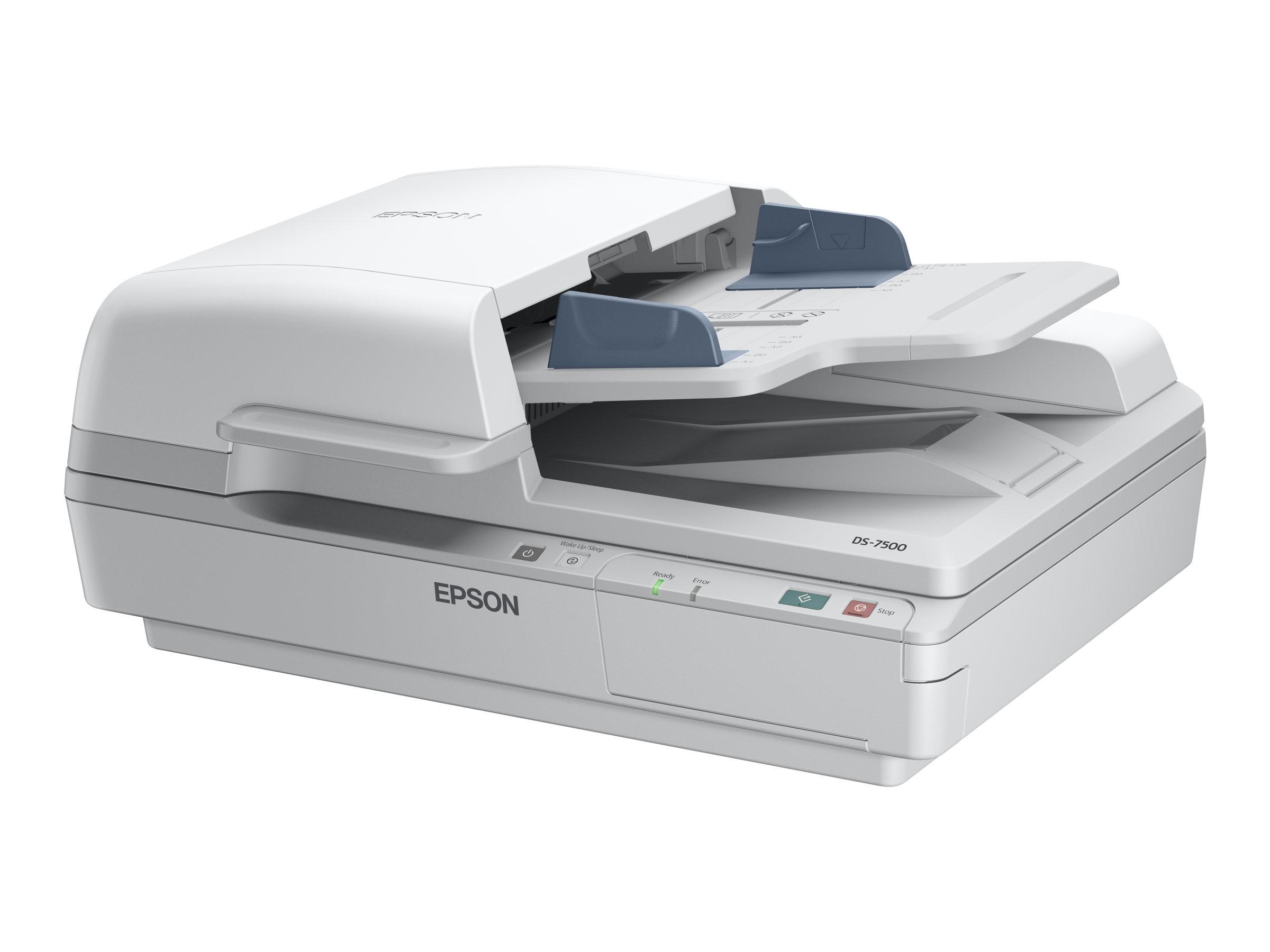 Epson WorkForce DS-6500 - Dokumentenscanner - Duplex - A4 - 1200 dpi x 1200 dpi - bis zu 25 Seiten/Min. (einfarbig) / bis zu 25