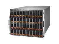 Supermicro SuperBlade SBE-820C-622 - Rack - einbaufähig - 8U - bis zu 20 Blades - Stromversorgung Hot-Plug