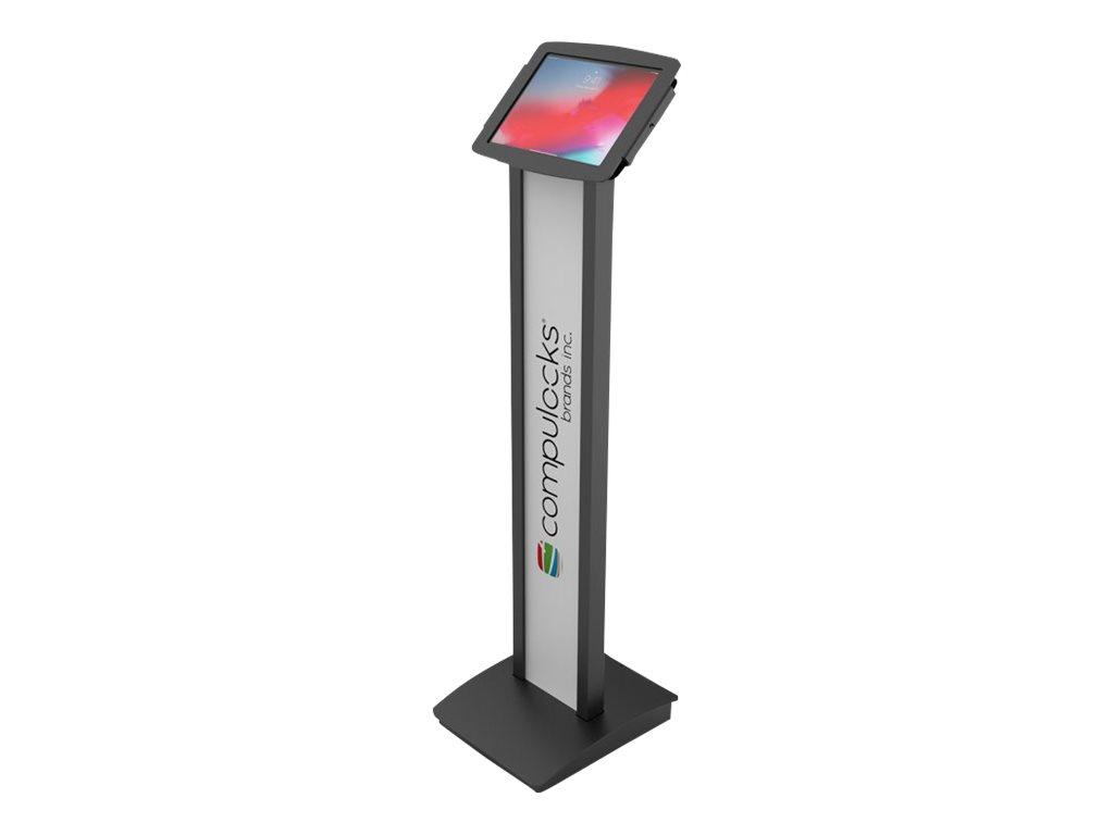 Maclocks Space BrandMe Floor Stand - Befestigungskit (Diebstahlschutzgehäuse, Standfuss) für Apple iPad 10.2 - verriegelbar - ho