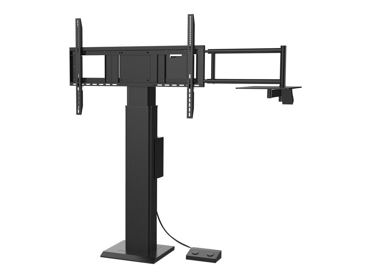 ViewSonic VB-STND-004 - Wagen (Montageklammer) für interaktives Flachfeld- / LCD-Display - Bildschirmgrösse: 139.7-218.4 cm (55