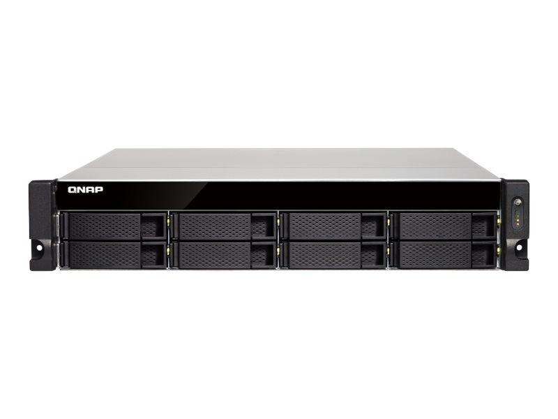 QNAP TS-863XU-RP - NAS-Server - 8 Schächte - Rack - einbaufähig - SATA 6Gb/s