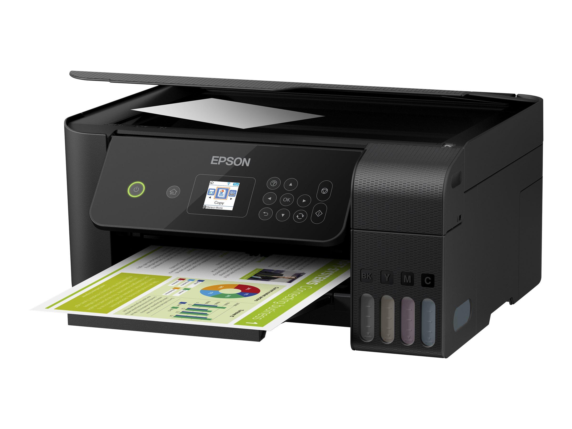 Epson EcoTank ET-2720 Unlimited - Multifunktionsdrucker - Farbe - Tintenstrahl - refillable - A4/Legal (Medien)