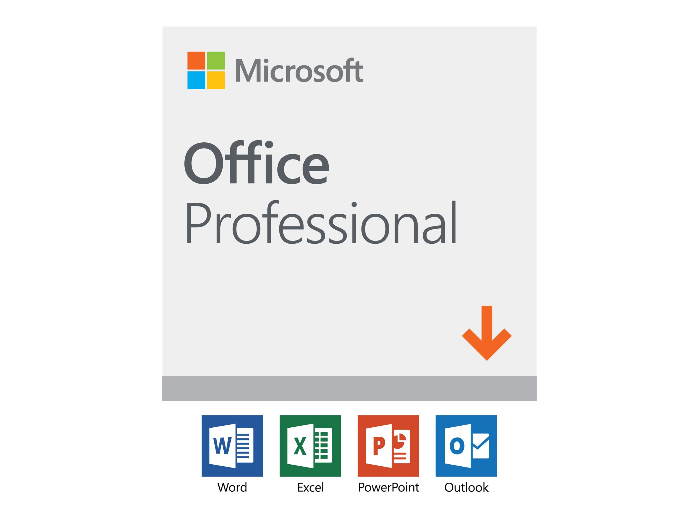 Microsoft Office Professional 2019 - Lizenz - 1 PC - Download - ESD - National Retail, Click-to-Run