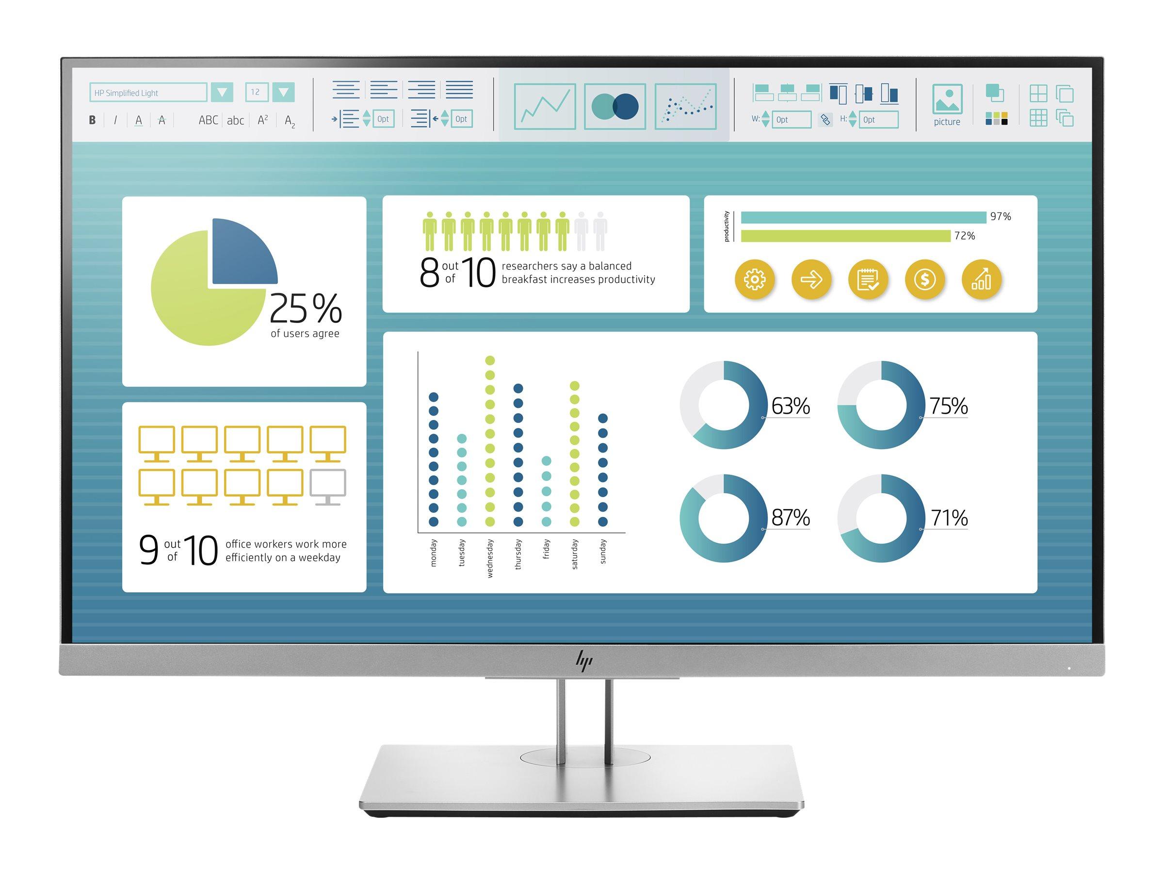 HP EliteDisplay E273 - LED-Monitor - 68.5 cm (27