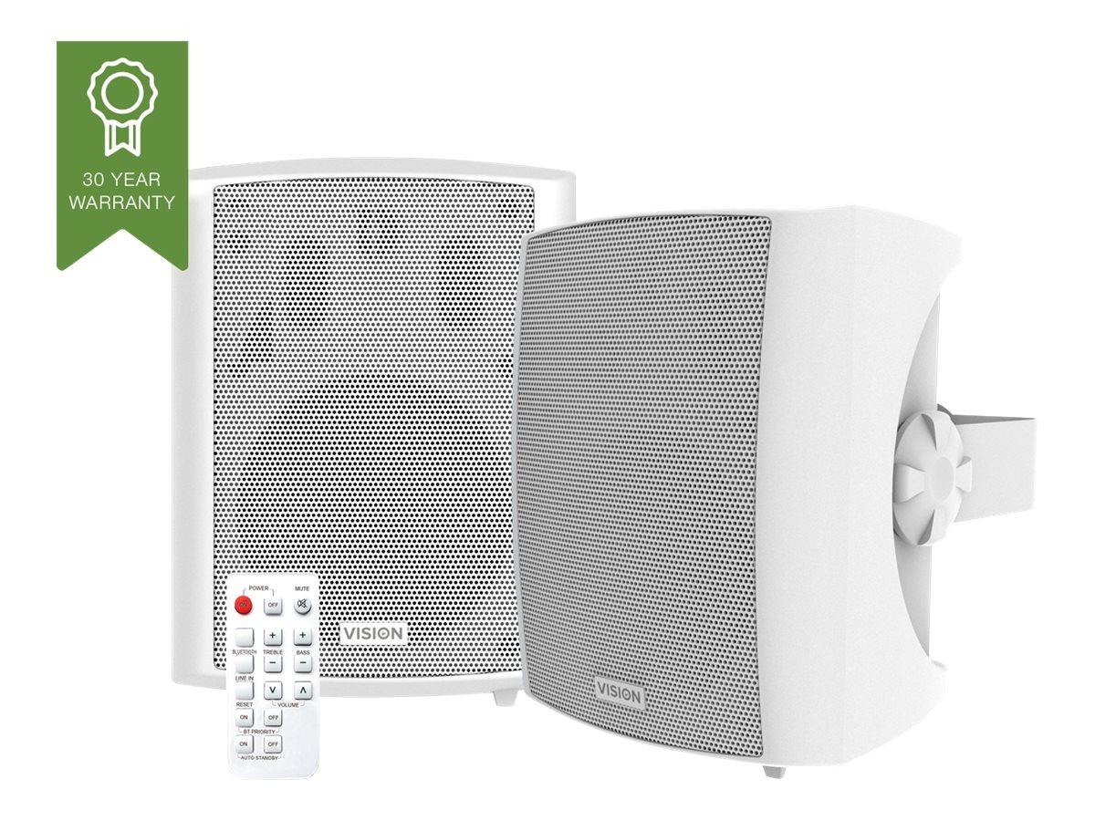 Vision SP-1800PBT - Lautsprecher - für PA-System - kabellos - Bluetooth - 60 Watt (Gesamt)