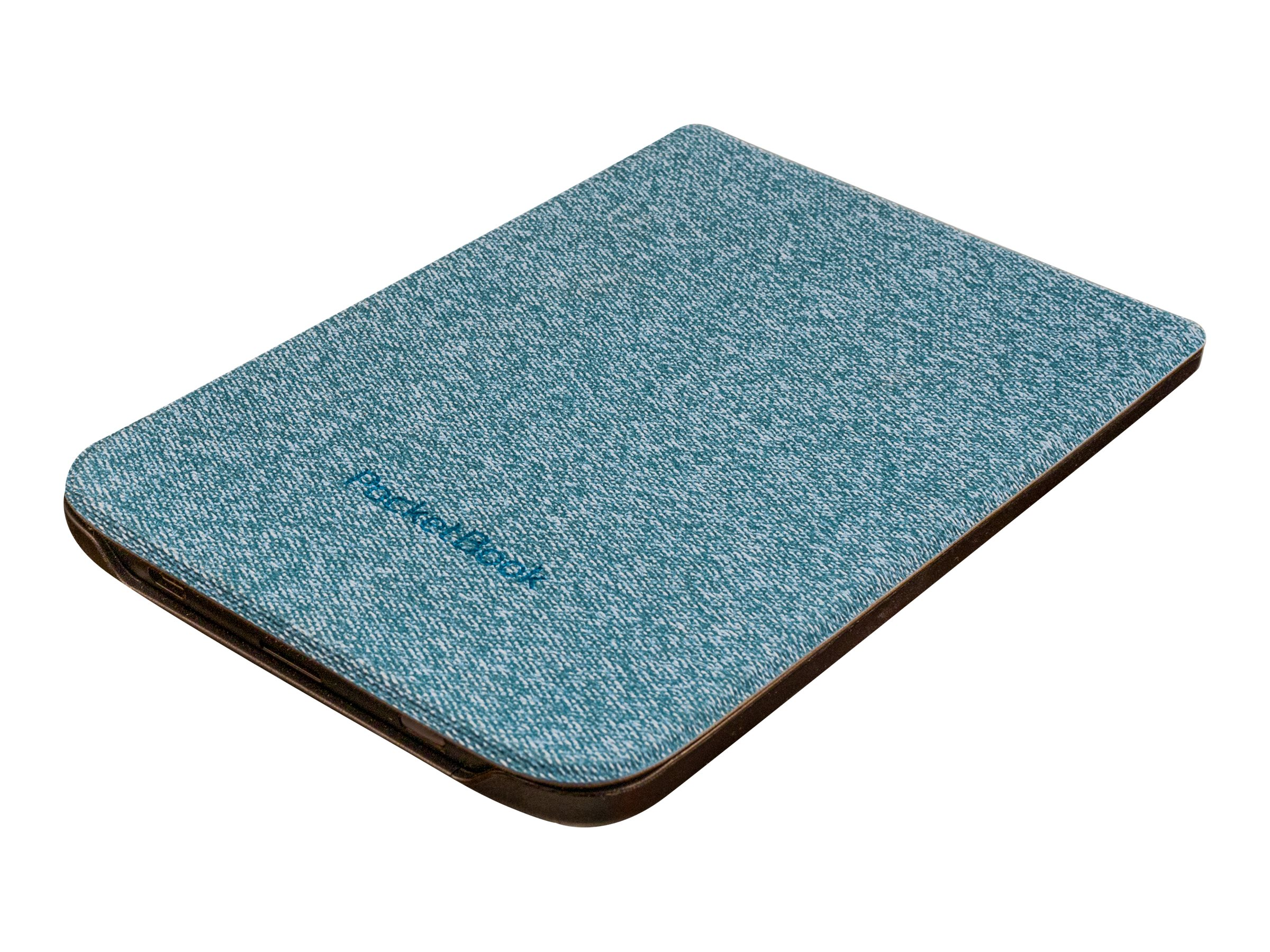 PocketBook Shell series - Flip-Hülle für eBook-Reader - Kunststoff, Polyurethan, Microfiber - Blau - für PocketBook Basic Lux 2,