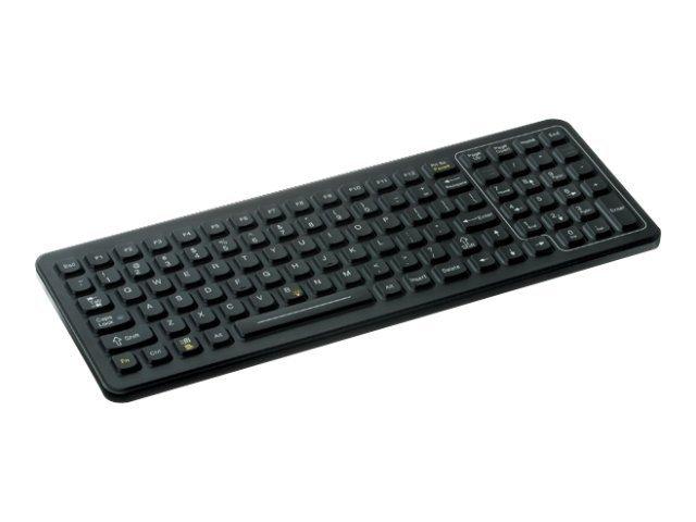 IKEY SlimKey SLK-101 - Tastatur - hintergrundbeleuchtet