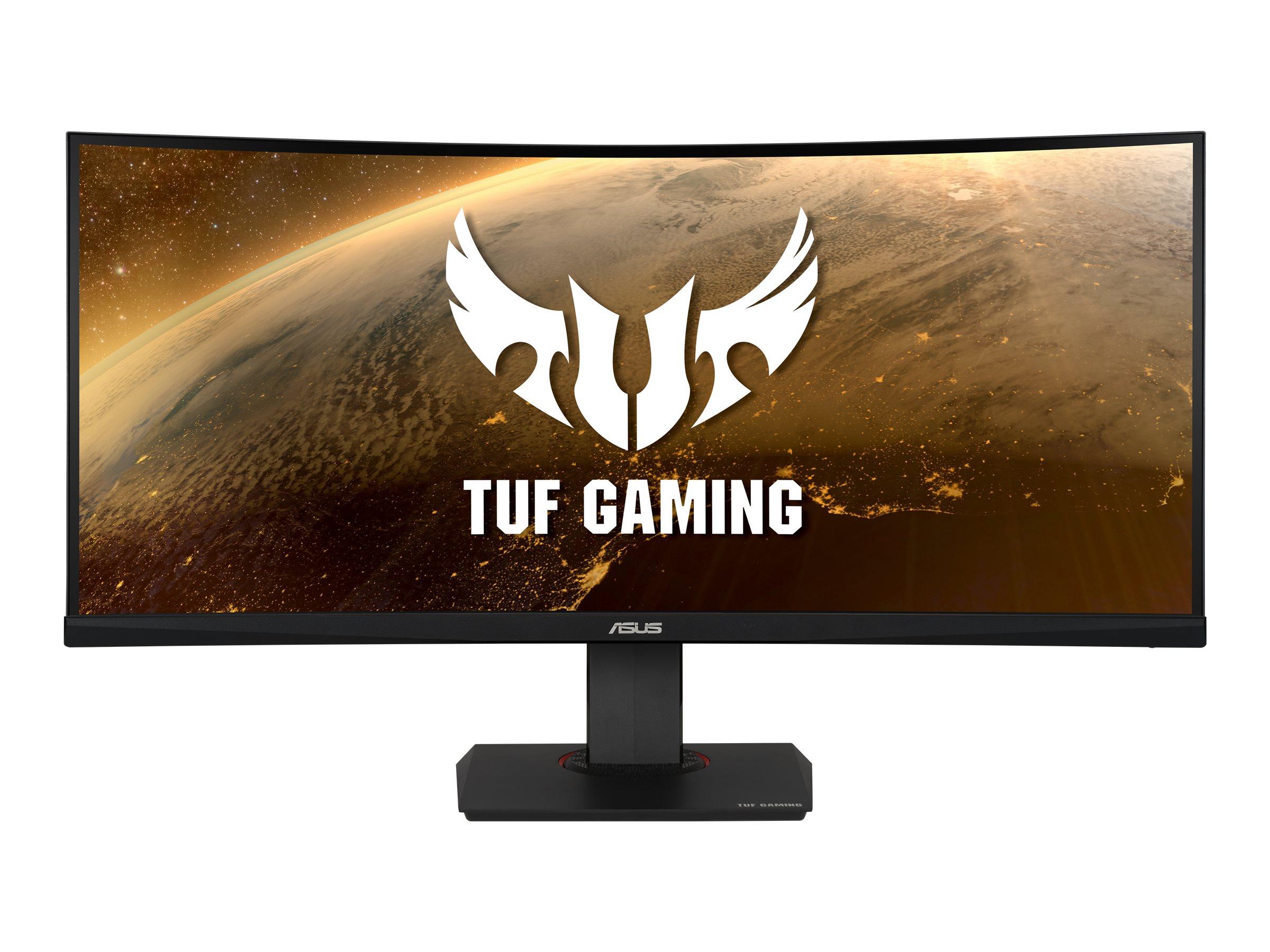 ASUS TUF Gaming VG35VQ - LED-Monitor - gebogen - 88.98 cm (35