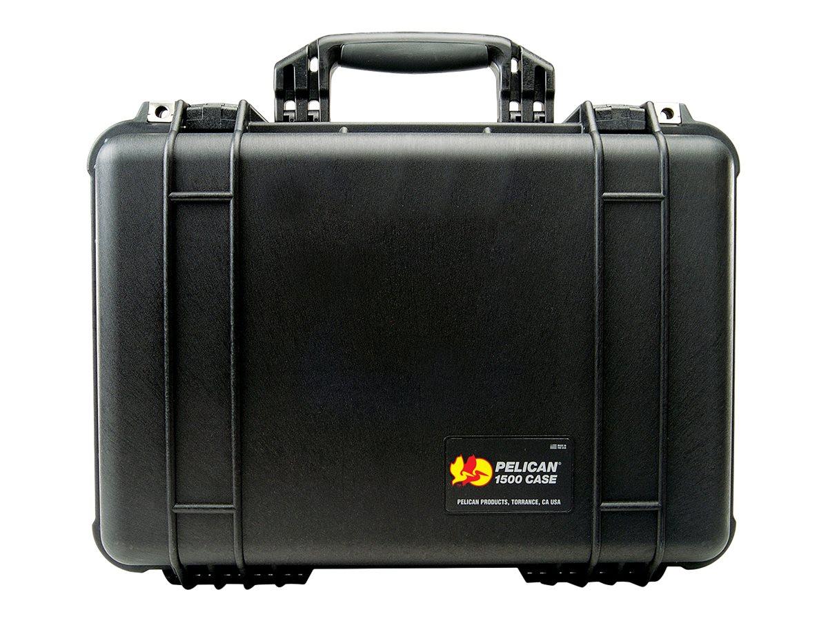 Pelican Mittlere Koffer 1500 mit schaumstoff - Tasche - Schwarz