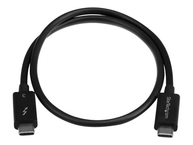 StarTech.com 50cm Thunderbolt 3 (40Gbit/s) USB-C Kabel - Thunderbolt, USB und DisplayPort kompatibel - Thunderbolt-Kabel - USB-C