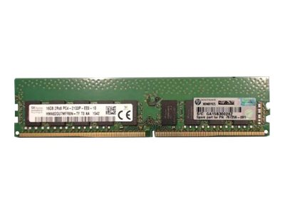 HPE - DDR4 - 16 GB - DIMM 288-PIN - 2133 MHz / PC4-17000 - CL15