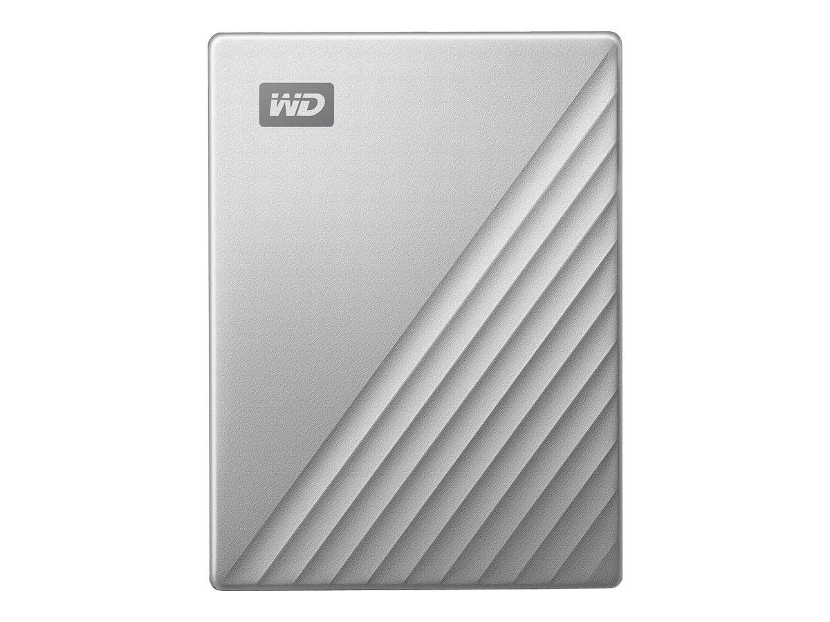 WD My Passport Ultra WDBFTM0040BSL - Festplatte - verschlüsselt - 4 TB - extern (tragbar) - USB 3.0 (USB-C Steckverbinder)