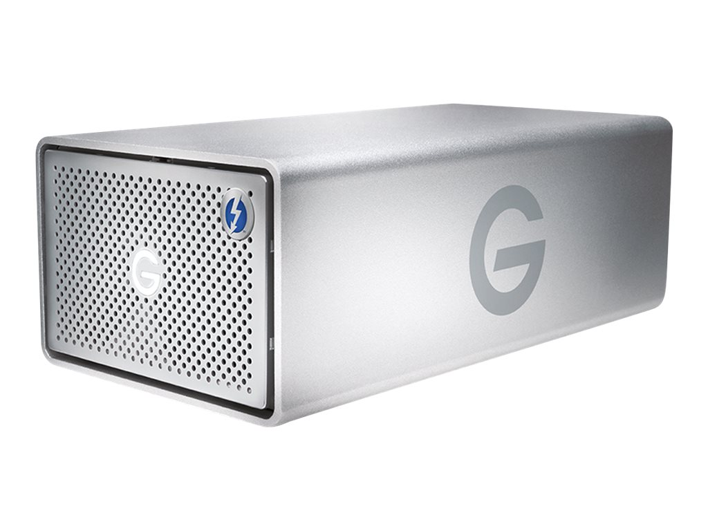 G-Technology G-RAID Removable GRARTH2EB120002BAB - Festplatten-Array - 12 TB - 2 Schächte (SATA-600) - HDD 6 TB x 2 - USB 3.0, T
