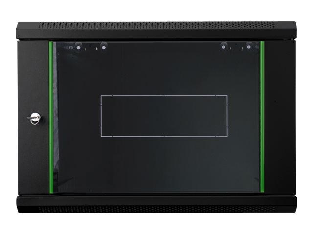 DIGITUS Dynamic Basic DN-19 07-U-EC-SW - Schrank - Netzwerkschrank - geeignet für Wandmontage - RAL 9005 - 7U