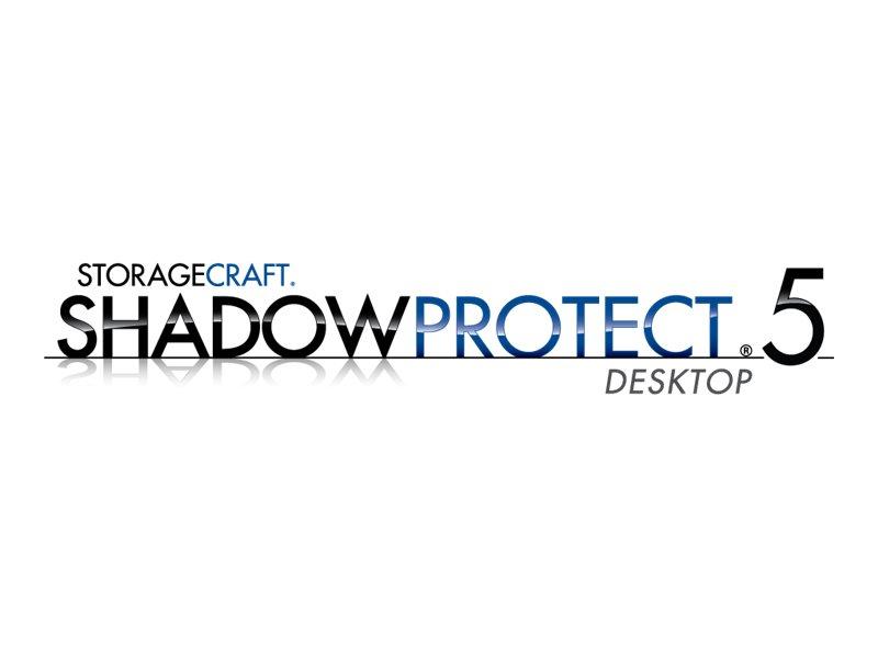 ShadowProtect Desktop - (v. 5.x) - Lizenz + 3 Jahre Wartung - 1 Desktop - ESD - Win