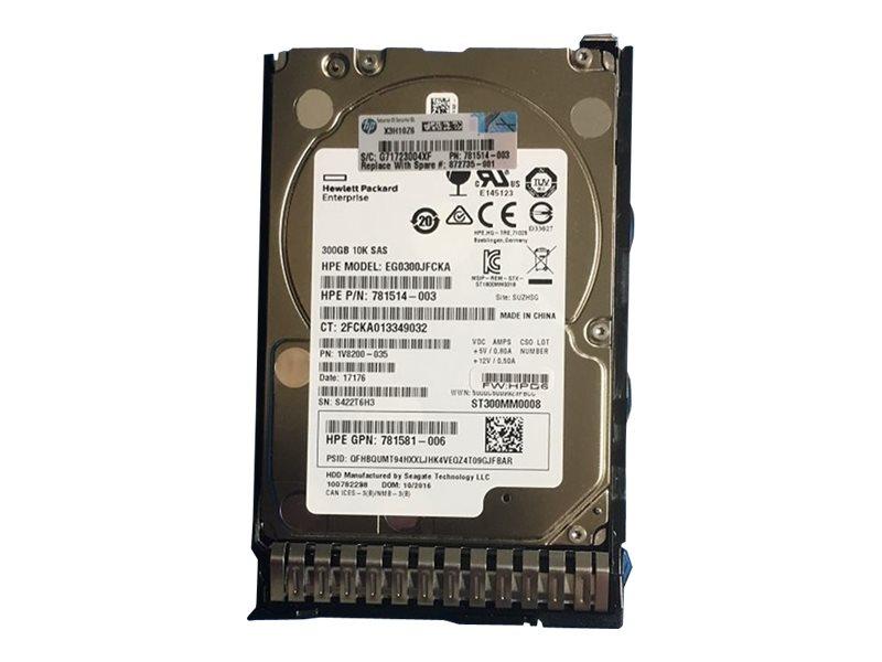 HPE - Festplatte - 300 GB - 2.5