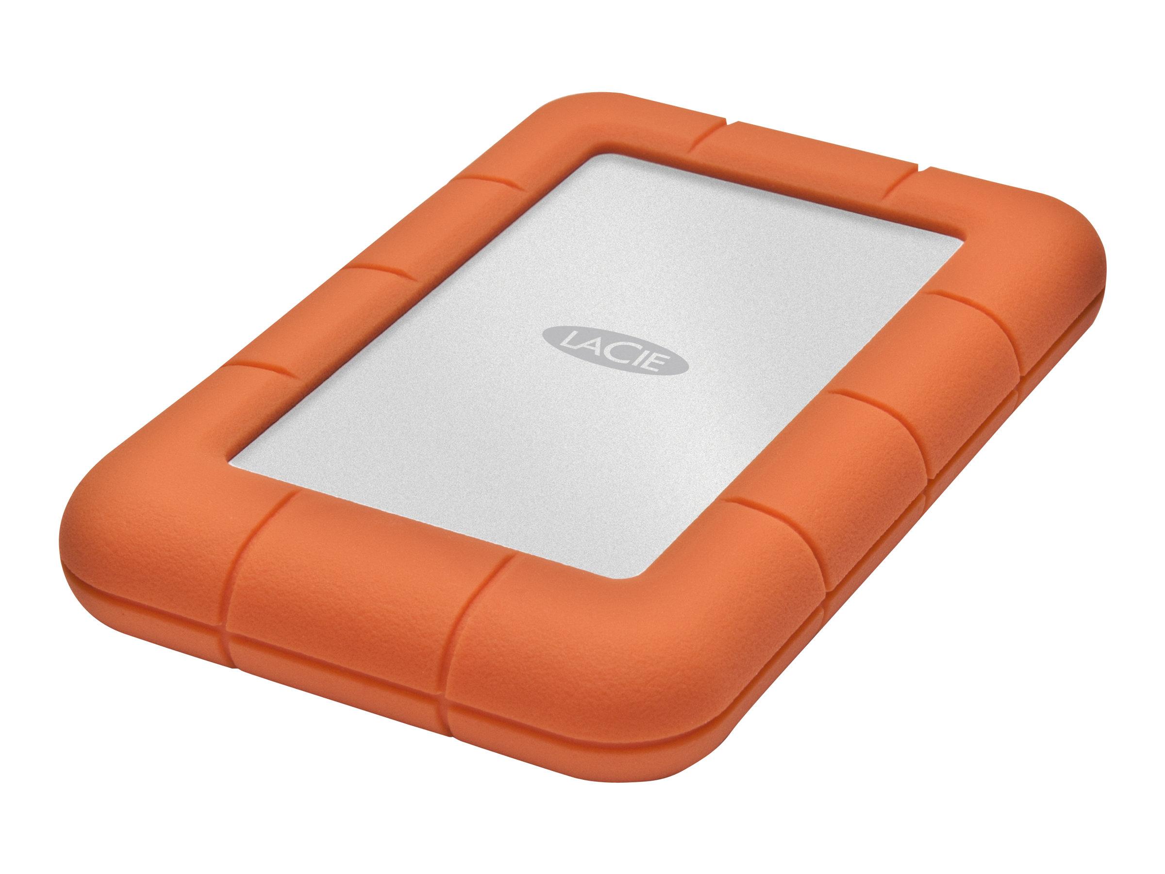 LaCie Rugged Mini - Festplatte - 2 TB - extern (tragbar) - USB 3.0